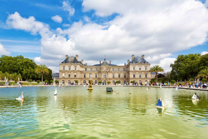 European spring tour for Jardin du luxembourg